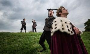 Shakespeare on the battlefield