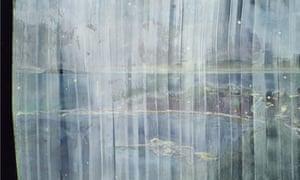 Black Curtain (Towards Monkey Island), 2004, by Peter Doig