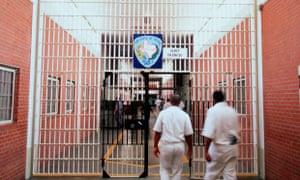 A death row unit at Ellis Prison in Huntsville, Texas.
