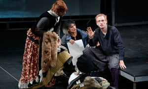 Gone for a Burton: the Wooster Group reimagine Hamlet at the Lyceum in Edinburgh.