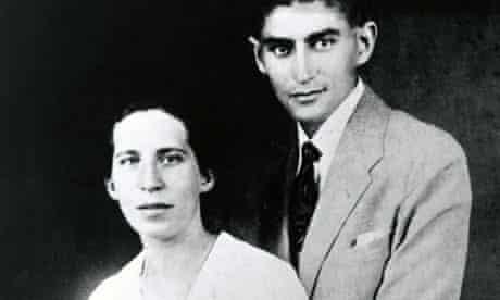 Portrait of Franz Kafka and Felice Bauer