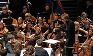 'Grand gestures': Vasily Petrenko conducts the National Youth Orchestra at the Proms.