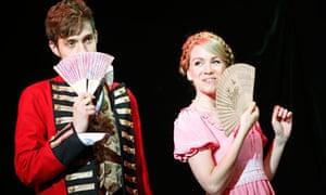Austentatious: An Improvised Jane Austen Novel at the Laughing Horse free festival, Edinburgh