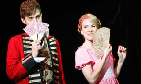 Austentatious: An Improvised Jane Austen Novel at the Laughing Horse free festival, Edinburgh