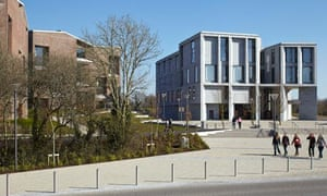 Limerick medical school, with student accommodation