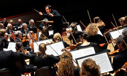 Andris Nelsons conducting the City of Birmingham Symphony Orchestra