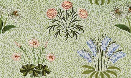 A William Morris wallpaper from 1870.
