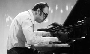 Alfred Brendel at the piano