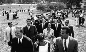The Hollywood delegation, 1963
