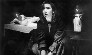 Pauline Knowles in the original production of Knives in Hens