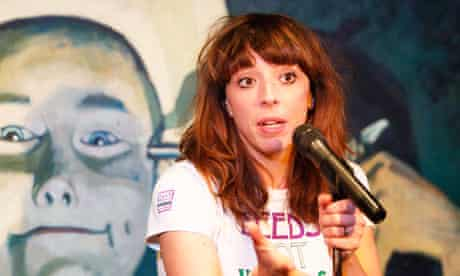 Bridget Christie - A Bic for Her at the Stand Comedy Club at the Edinburgh festival 2013