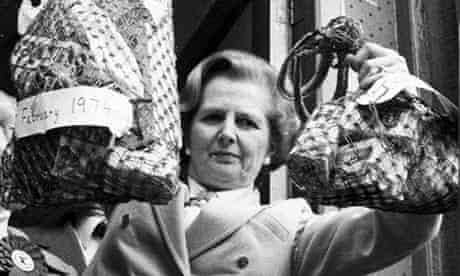 Margaret Thatcher in 1979.