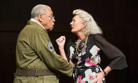 James Earl Jones and Vanessa Redgrave in Much Ado About Nothing