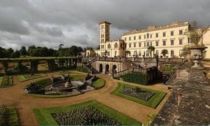 Osborne House, Queen Victoria's holiday retreat.