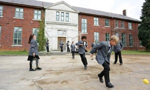 Upper Heyford - children playing