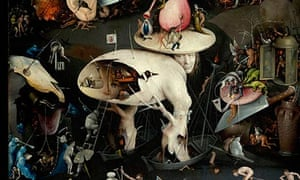A detail from Hieronymus Bosch's The Garden of Earthly Delights