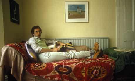 Author Ian McEwan in 1980s