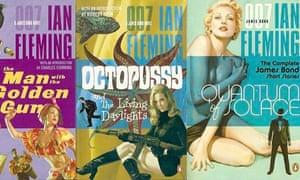 Some of Ian Fleming's original James Bond novels.