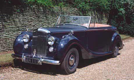 A Mark VI Continental Bentley
