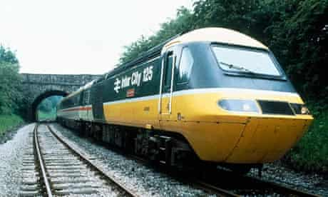 The InterCity 125 train