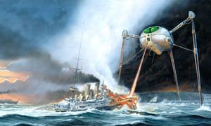 Original War of the Worlds album artwork