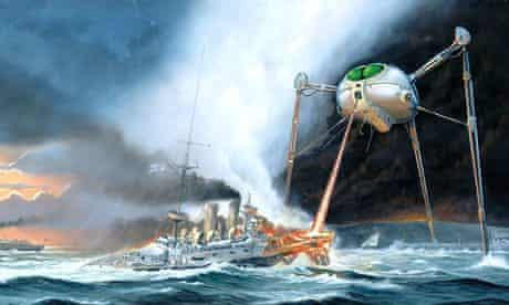 Original War of the Worlds album artwork