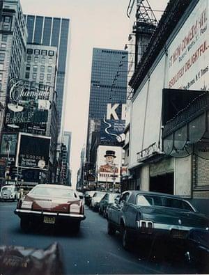 William S Burroughs - Midtown Manhattan