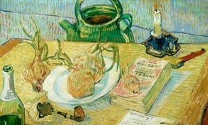 Van Gogh's <em>Still Life with Drawing Board, Pipe, Onions and Sealing-Wax</em> (1889)