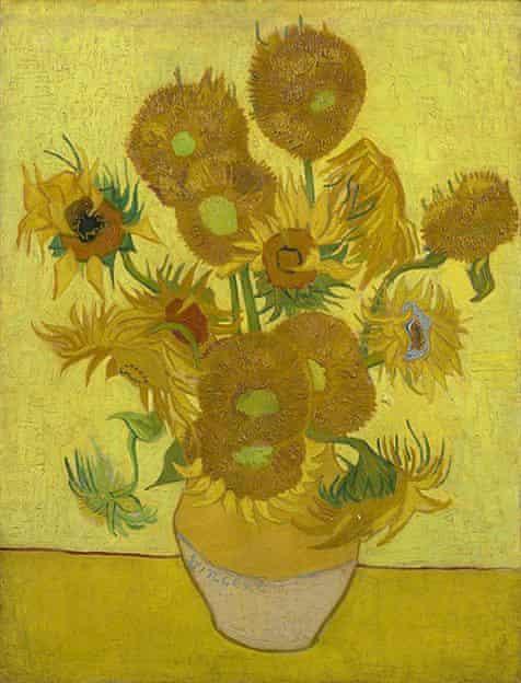Van Gogh's Sunflowers, 1889