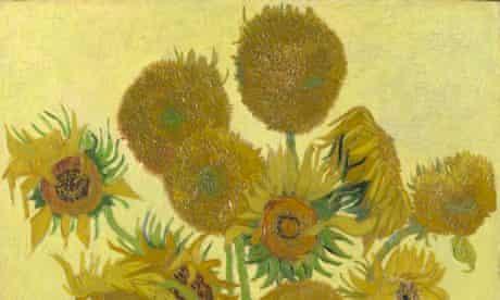 Van Gogh's Sunflowers, 1888