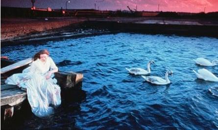 Tilda Swinton in Jarman's The Last ofEngland (1988)