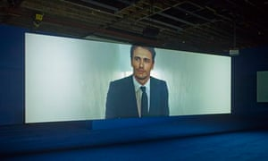 James Franco plays an art adviser in Playtime.