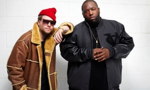 Run the Jewels - El-P (left) and Killer Mike