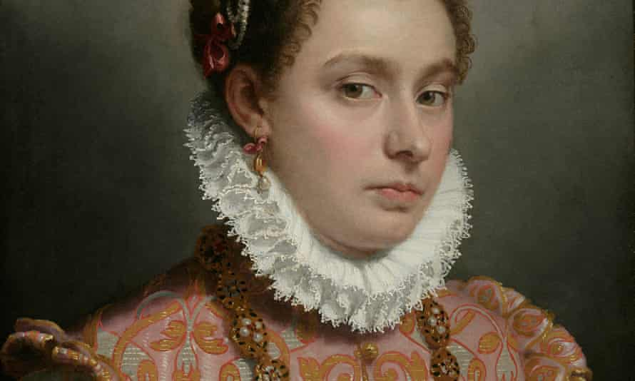 Giovanni Battista Moroni's Young Lady, c.1560-65Oil on canvas, 51 x 42 cm, private collection