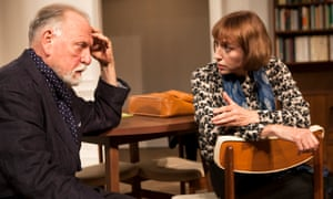 Brilliantly controlled … Kenneth Cranham as Andre and Lia Williams as Anne in The Father.