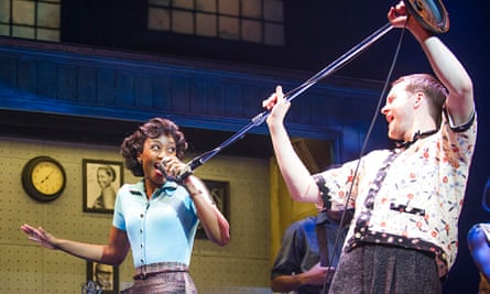 Verve … Beverley Knight as Felicia and Killian Donnelly as Huey in Memphis: The Musical.