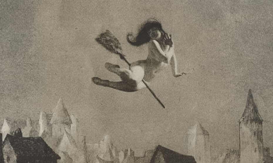 William Mortensen's Off for the Sabbot (1927).