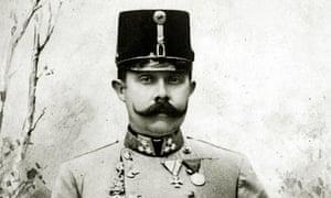 The Archduke Franz Ferdinand of Austria