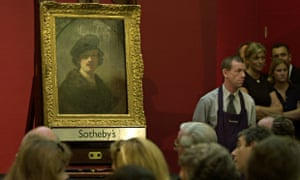 Sotheby's auctioneers in London