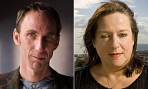 Will Self and Julie Burchill