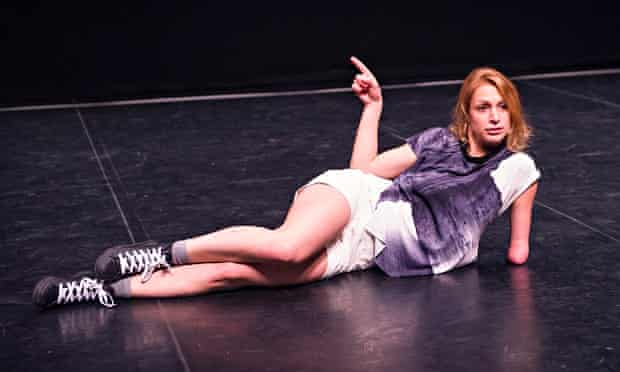 Brimful of mischief … Laura Patay in Let's Talk About Dis from Candoco's Playing Another.
