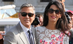 The wedding of George Clooney and Amal Alamuddin, Venice, Italy - 28 Sep 2014