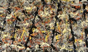 Inner and outer space … Jackson Pollock's Blue Poles (Number 11, 1952)