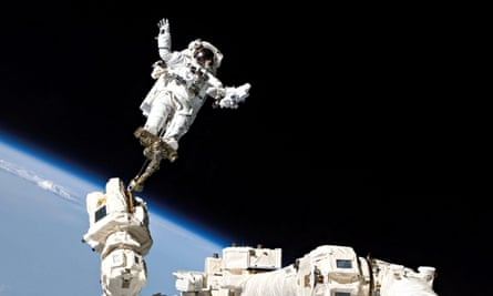 Discovery Astronauts Continue Mission Tasks