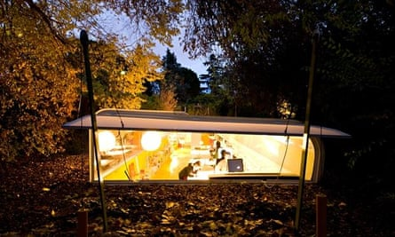 Breaking new ground … Selgas Cano's Office in the Woods outside Madrid, Spain.