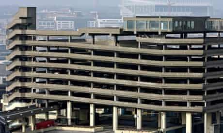 The Trinity Square car park, Gateshead