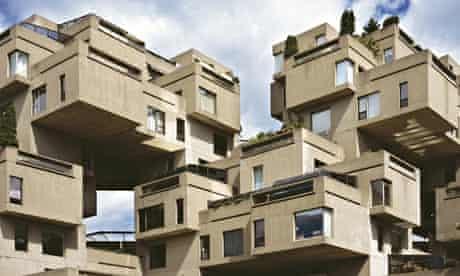 Habitat 67 in Montreal, by Moshe Safdie.