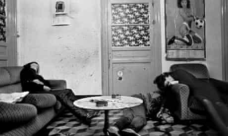Letizia Battaglia's shot of mafia murder victims in Palermo