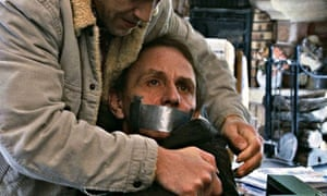 A still from The Kidnapping of Michel Houellebecq