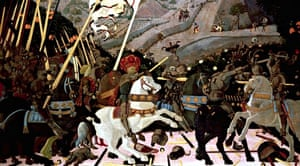Paolo Uccello's The Battle of San Romano.